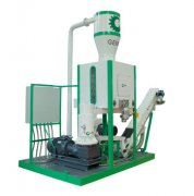 Mini Portable Pellet Production Line Sale for British Customer