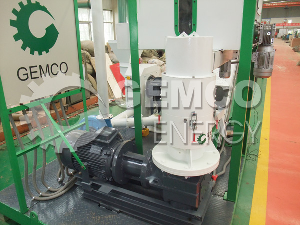 ZLSP series flat die wood pellet machine