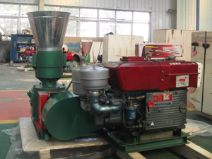 diesel pellet mill machine