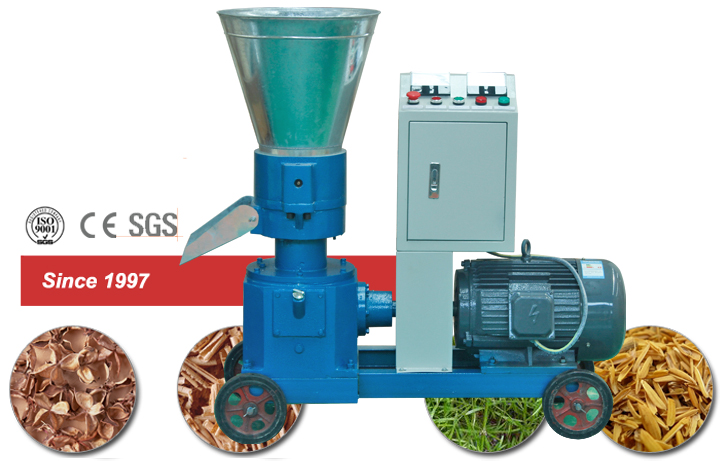 Display ZLSP 200B Biomass Pelletizer in Canton Fair 2018