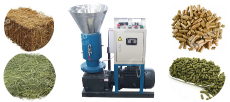 grass pellet machine