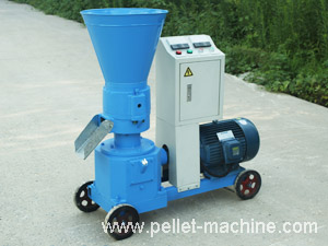 homemade pellet machine