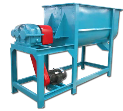 Horizontal Feed Mill Mixer