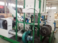 Portable Pellet Mill Sent to Saudi Arabia