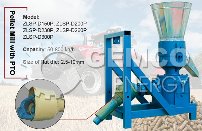 Pto Pellet Machine Introduction