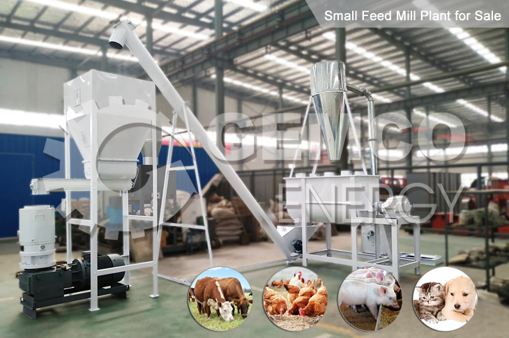 Small Feed Mill Plant for Sale