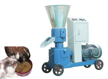 small scale animal feed pellet machine
