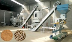 1.5T/H Wood Pellet Mill Plant Purchased by Philippine Customer
